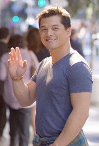 "Vincent Rodriguez III plays Josh Chan on the CW's ""Crazy Ex-girlfriend."""