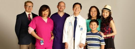 "The cast of ABC's ""Dr. Ken,"" starring Ken Jeong."