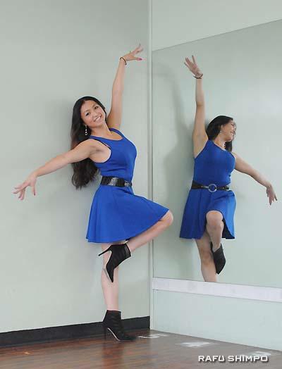 Marisa Hamamoto, professional dancer, choreographer, instructor, and actress. (RYOKO NAKAMURA/Rafu Shimpo)