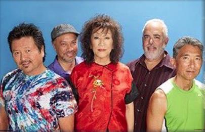 From left: Dan Kuramoto, Kimo Cornwell,  June Kuramoto, Dean Cortez, Danny Yamamoto.