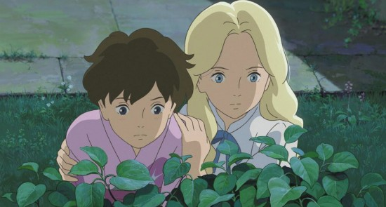 "A troubled orphan befriends a mysterious blonde in Hiromasa Yonebayashi's ""When Marnie Was There."""