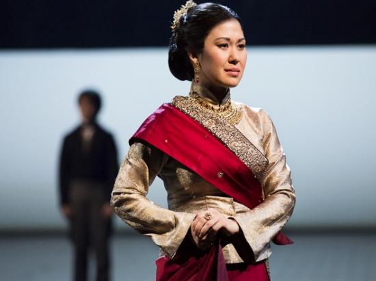 Ruthie Ann Miles won a Tony for her portrayal of Princess Thiang. (Photo by Ken Kolnik)