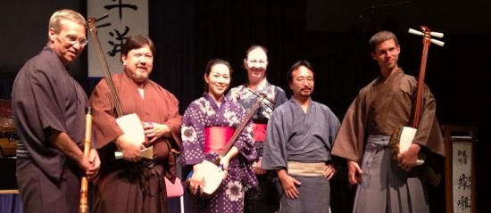 Ensohza, a Japanese folk ensemble, will perform.