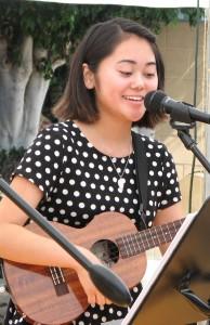 Kalyn Aolani Oshiro (Rafu Shimpo photo)
