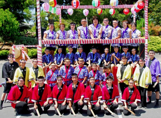MVBT Taiko pictured at the Yagura.