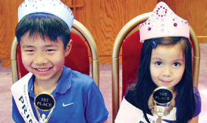 Winners from the 2014 Nisei Week Baby Show.