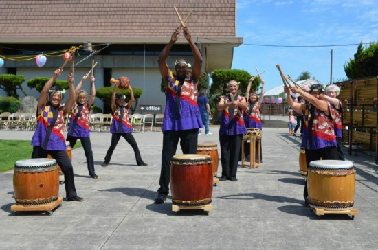 The bazaar will include taiko performances.