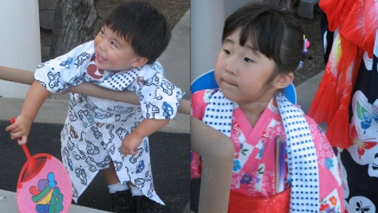 Obon is a multigenerational event.