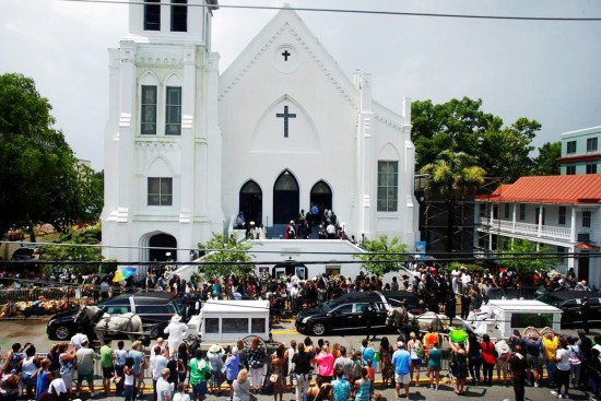 Funeral at Emmanuel AME Church