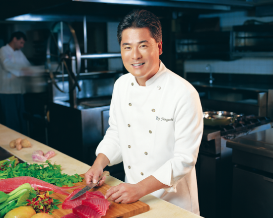 Chef Roy Yamaguchi is a culinary pioneer known for founding Roy's, a chain of popular Hawaiian fusion restaurants.