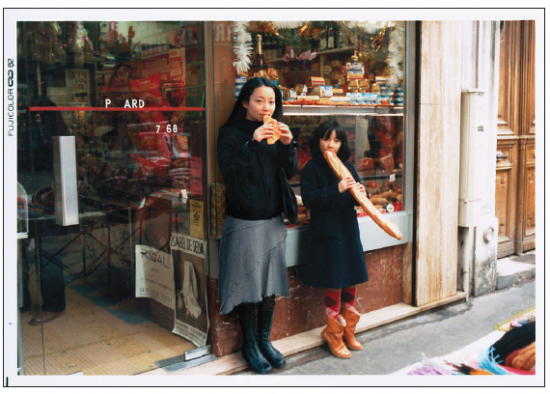 "Chino Otsuka's ""1982 and 2005, Paris, France"" is among the photos in the Getty exhibit focused on a generation of female photographers."