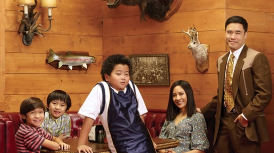 "The cast of ""Fresh Off the Boat."""