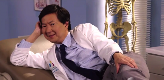 "Ken Jeong stars in the new sitcom ""Dr. Ken."""