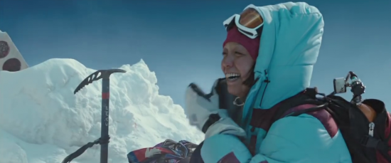 "Naoko Mori as Yasuko Namba in a scene from ""Everest."""