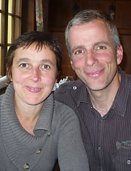 Sylvie and Hervé Claudon