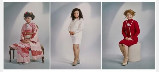 """""""OMIAI ♡, 2001"""" by Tomoko Sawada,  chromogenic print."""