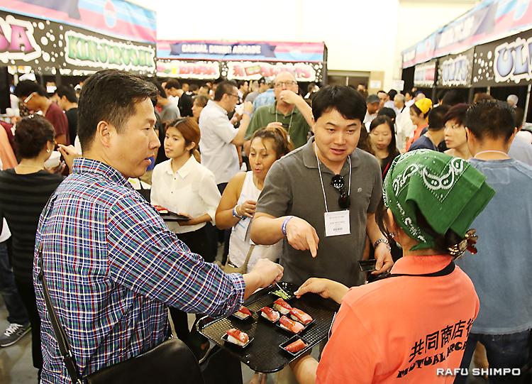 盛況を極めた共同貿易の「日本食とレストランエキスポ」