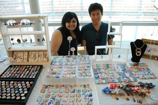 Madame Sakura Crafts will be back with jewelry, washi, and kimono crafts.