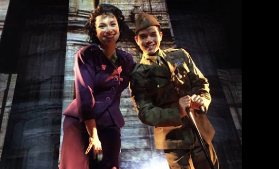 "Lea Salonga and Telly Leung play siblings in ""Allegiance."""