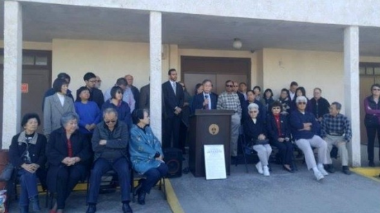 Speakers from various communities participated in the news conference. (Photo by Danna Elneil/CAIR)