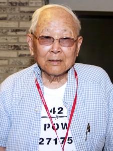 Mori Tanimoto at the 2009 Tule Lake Pilgrimage.