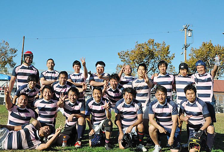 3連覇を果たしたニューヨークのオールジャパン・ラグビー・フットボールクラブのフィフティーン