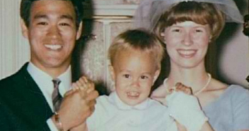 Bruce and Linda Lee with son Brandon.