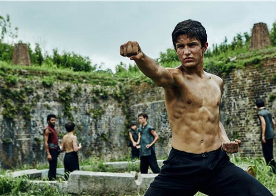 "Aramis Knight as M.K. in a scene from ""Into the Badlands."" (AMC)"