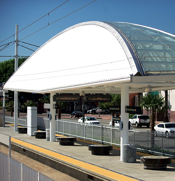 Metro's Little Tokyo/Arts District station on First and Alameda. (Metro)