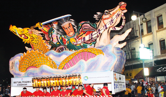 Nebuta to Appear in Hollywood Christmas Parade