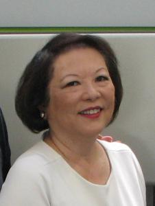 Patti Hirahara (Rafu Shimpo photo)