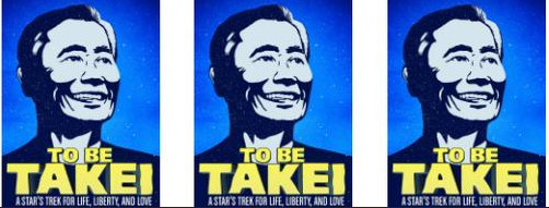 to be takei graphic