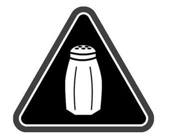 塩分過多のメニューに今後表示される「塩マーク」