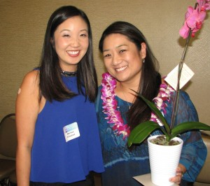 Luncheon Planning Committee members Marissa Kitazawa and Alayne Yonemoto (chair).