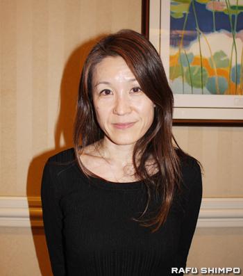 ポーターランチの住民をとりまとめ、弁護団や環境・医療の専門家とともにガス漏出問題の解決に向け取り組む日比野恭子さん
