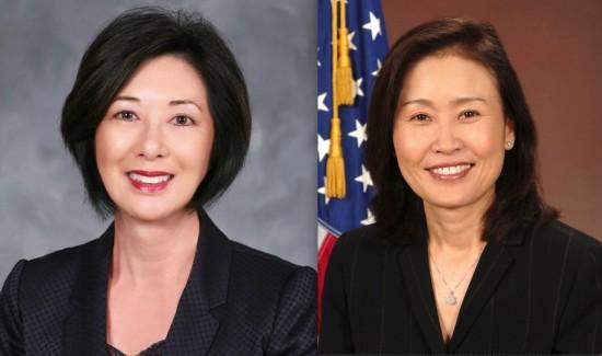 Supervisors Lisa Bartlett and Michelle Steel