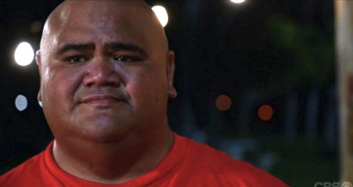 "Taylor Wily plays Kamekona on ""Hawaii Five-O."""