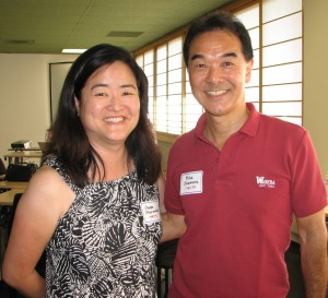 Event organizers included Gwen Muranaka (1990-91) and Mike Okamura (1984-85).