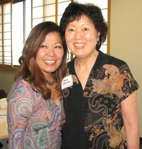 Nanci Nishimura and Bette Hiramatsu.