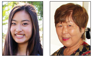 Caitlyn Tang and Nancy Oda