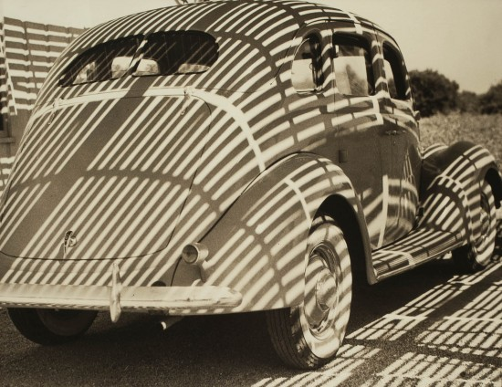 "Henry Hayashida, ""Streamline."" C. 1935. Gelatin silver print. Collection of the Japanese American National Museum. (From ""Making Waves"")"