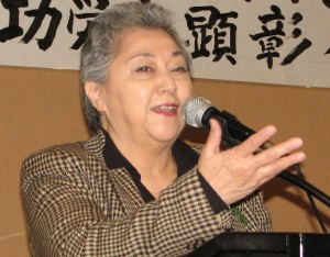 Ellen Endo, president of the Little Tokyo Business Association.