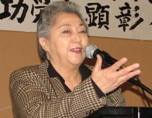 Ellen Endo, president of the Little Tokyo Business Association.