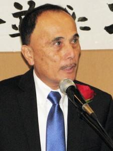 George Mori, president of Nanka Kenjinkai Kyogikai.