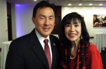 Delegate Mark Keam of Virginia and Karen Korematsu, daughter of Fred Korematsu.