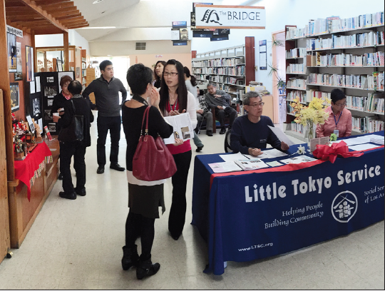 The South Bay office of the Little Tokyo Service Center is located on the second floor of the Gardena Valley Japanese Cultural Institute.