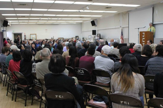 Dr. Satsuki Ina addressed a capacity crowd at last year's GVJCI Day of Remembrance.