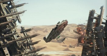 "One of the four awards given to ""Star Wars: The Force Awakens"" was for this chase sequence. (Disney/Lucasfilm)"