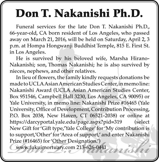 Don T. Nakanishi_obit_20160326
