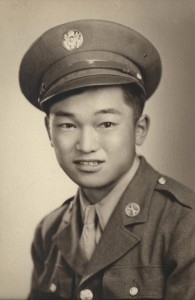 John Tanaka served with the 442nd Regimental Combat Team.
